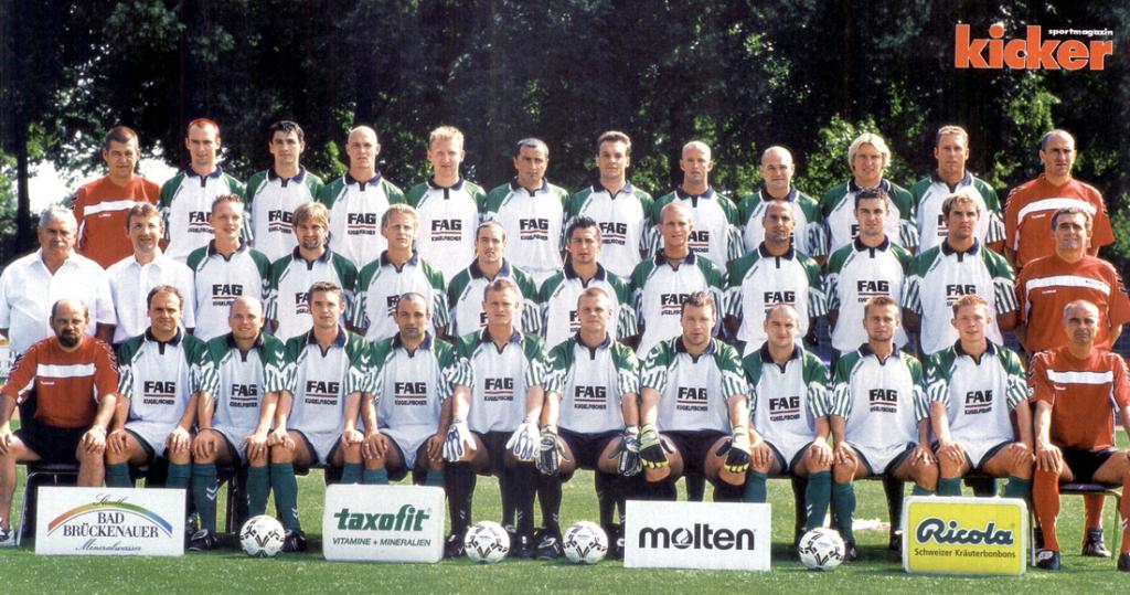 1991–2004 – Die Ära Hertlein – Vasic – Bayernliga, Regionalliga, 2. Liga, Lizenzentzug
