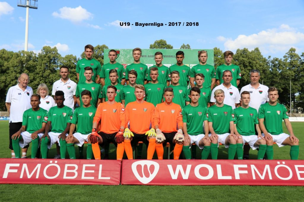 U19 Sonderrunde Bundesligabayernliga Fc Würzburger Kickers 1