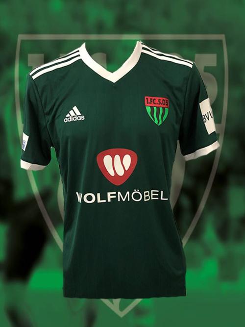 e1910828ef Trikot grün (Größe XS-3XL) und Kindergrößen - 1. FC Schweinfurt 1905